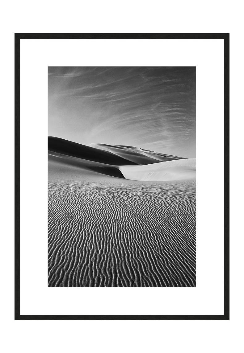 The Unwalkable with frame, Desert Stories Series (Photo Edition), Nik Barte