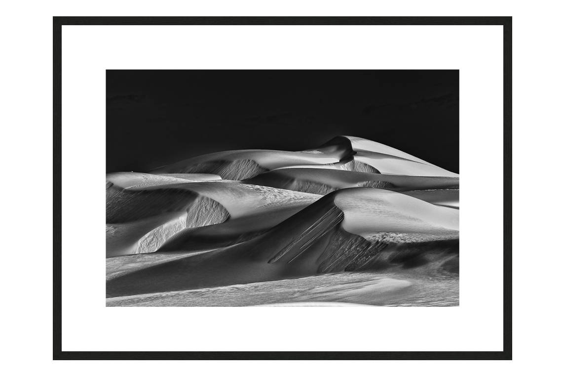 Our Iceberg Is Melting with frame, DUNES Unveiled Beauties Series, Nik Barte