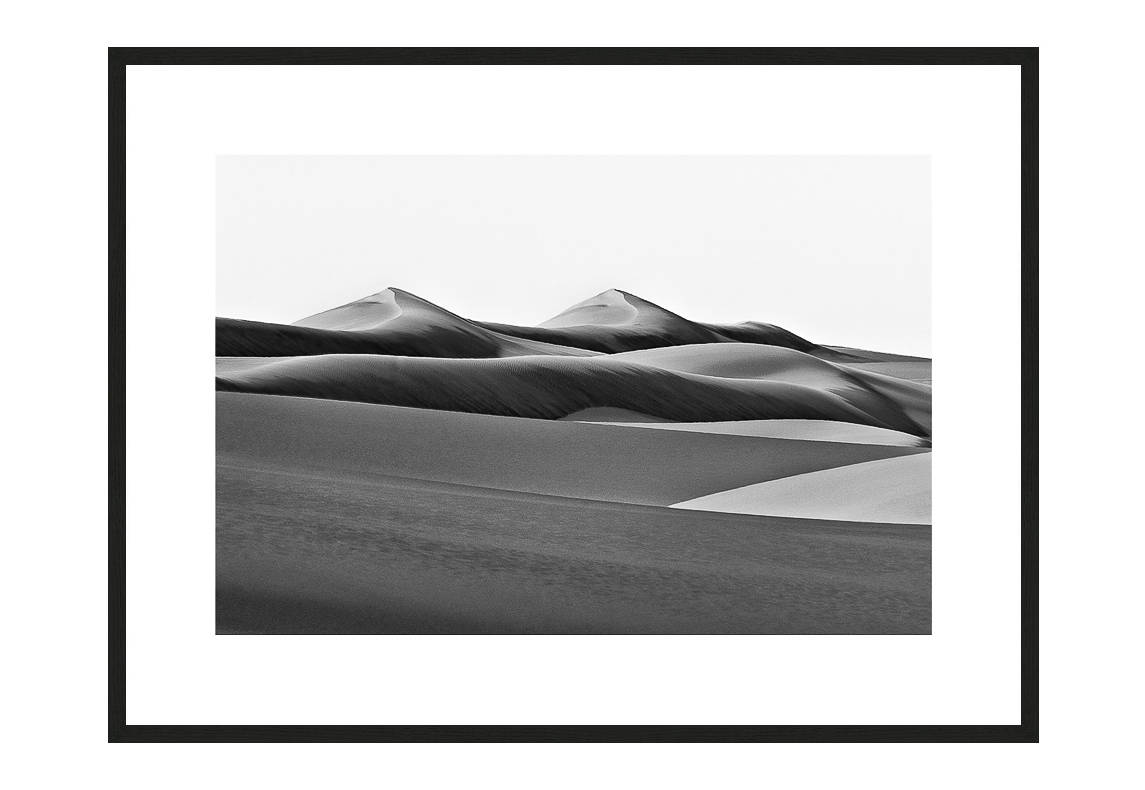 Twin Peaks with frame, Desert Stories Series (Photo Edition), Nik Barte