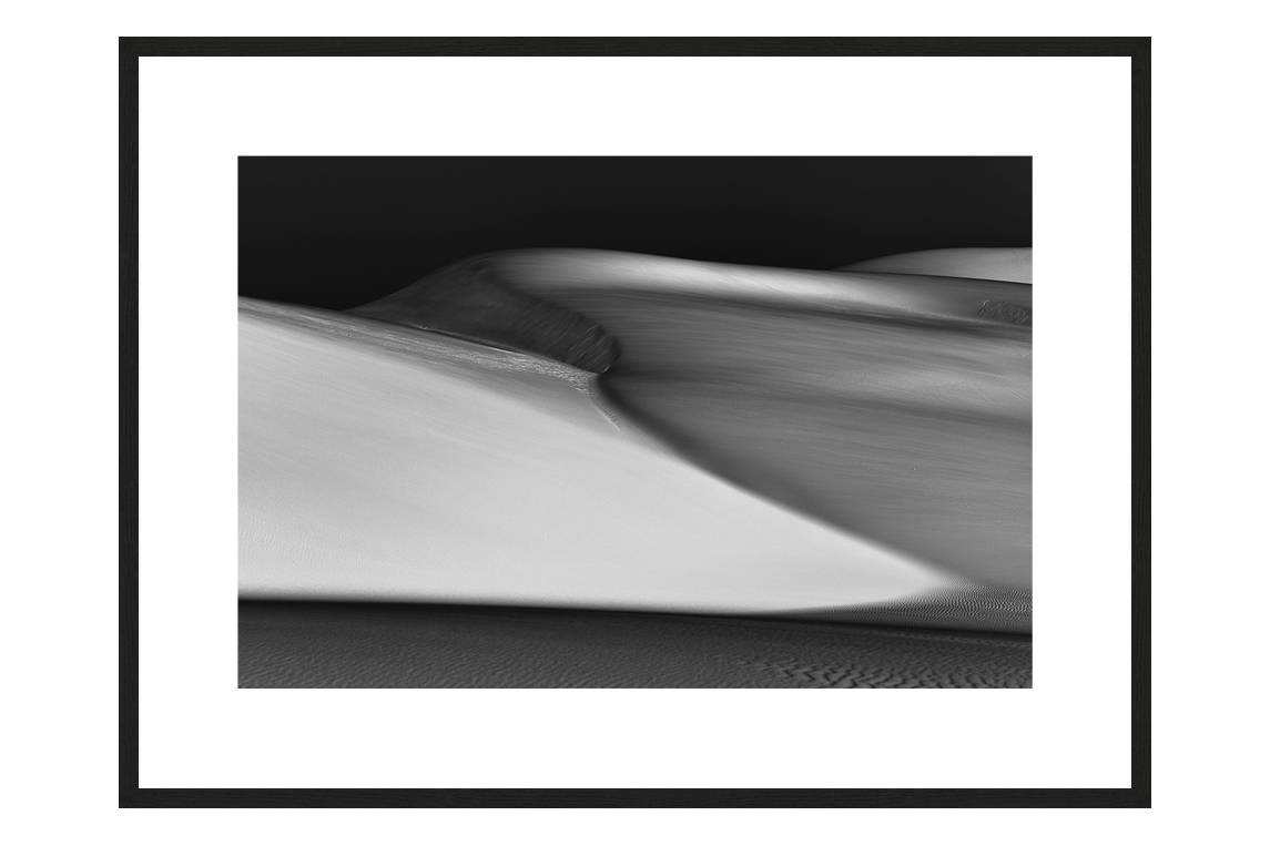 Waiting In Silence with frame, DUNES Unveiled Beauties Series, Nik Barte