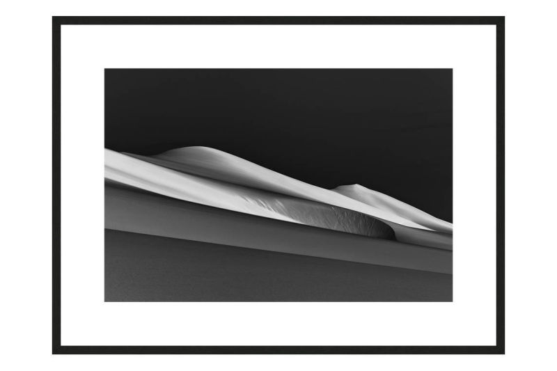 The Sea Will Rise Again with frame, DUNES Unveiled Beauties Series, Nik Barte