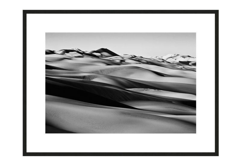 Lost in Silicaland with frame, Desert Stories Series (Photo Edition), Nik Barte
