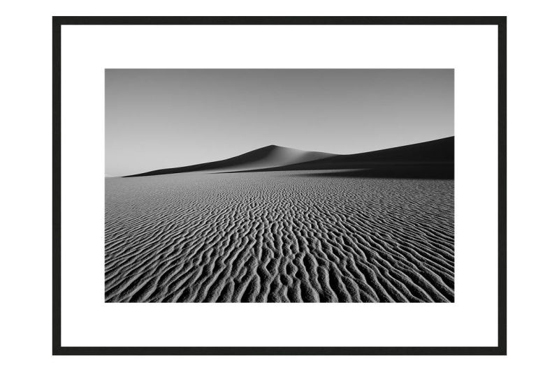 Great Sand Sea with frame, DUNES Unveiled Beauties Series, Nik Barte