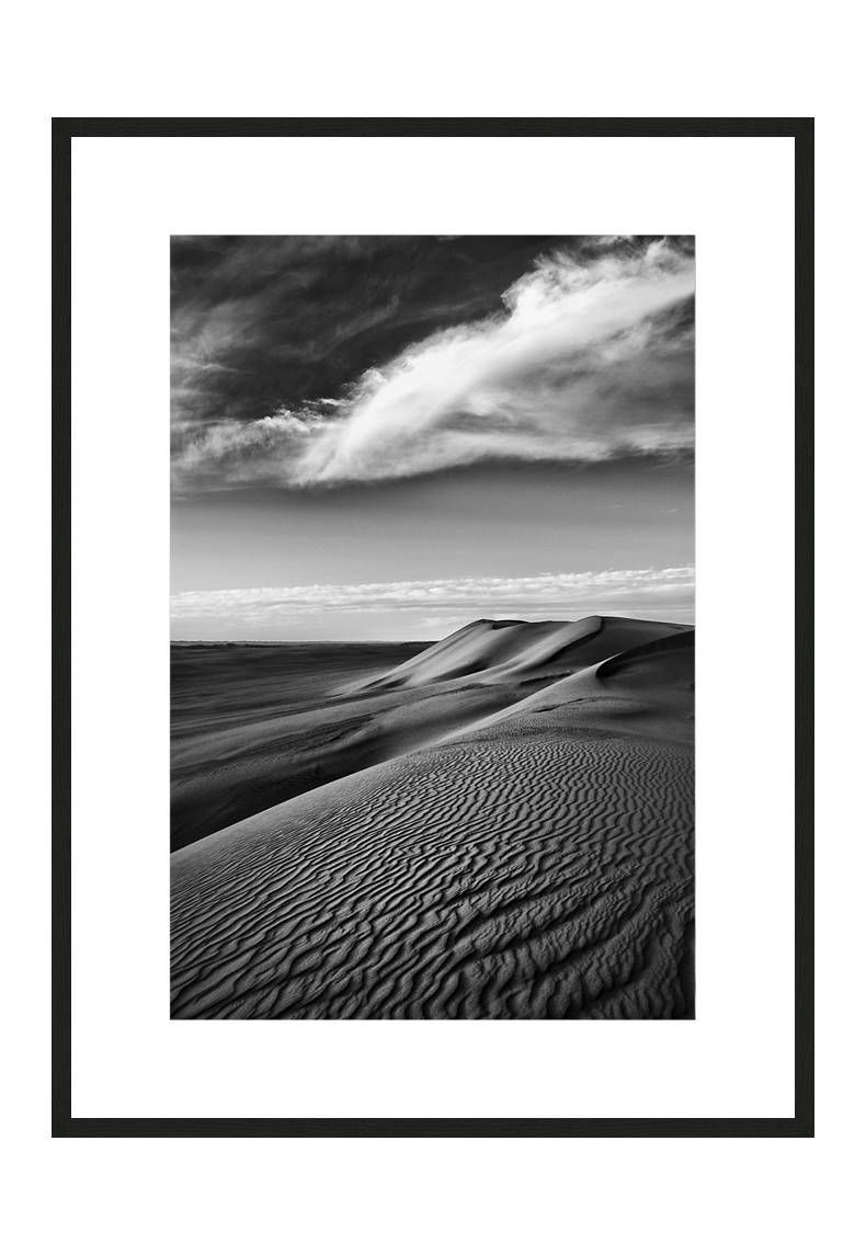 Riding The Waves with frame, Desert Stories Series (Photo Edition), Nik Barte